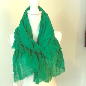 Old Navy Scarf Green - Perfect for Spring
